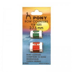 Cuenta pasadas Pony pack 5x2 unds