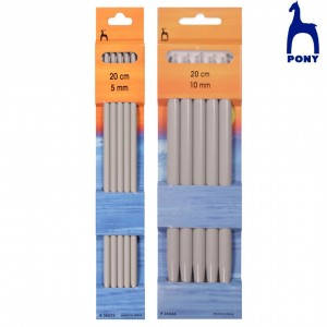 Aguja Calcetar Aluminio pack 5