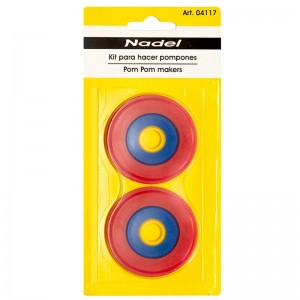 Kit para hacer pompones 4117 pack 5