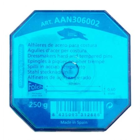 ALFILERES ACERO 250g JABALI N.6