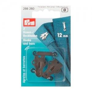 Corchetes para pantalones y faldas 12mm 266260