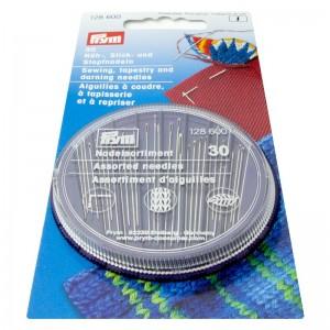 Agujas de coser bordar zurcir 128600