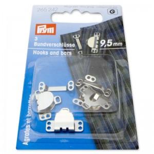 Corchetes para pantalones y faldas 95mm 265242