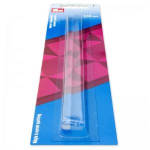 Regla para acolchado plástico transparente 611332
