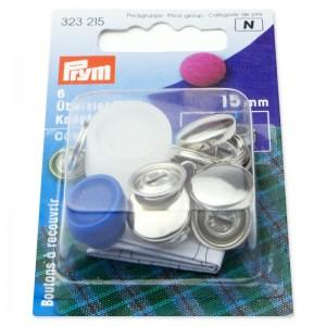 Botones para forrar 15mm 323215