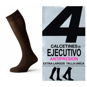 Calcetin Ejecutivo Largo Antipresion Pack 12 pares