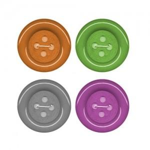 Botones Payaso  L-85 Pack 12