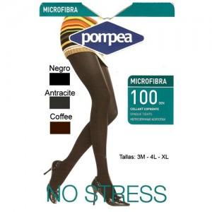 Panty Pompea Microfibra 100 Den Pack 6