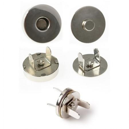 Broche Magnético Metal Pack 20 Unidades
