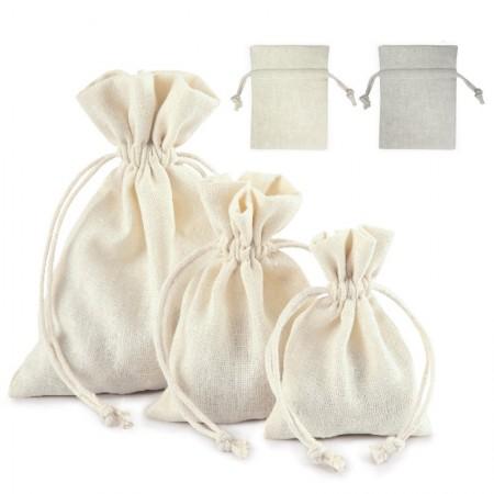 Bolsas Algodón 2302 12x9cm Pack 10