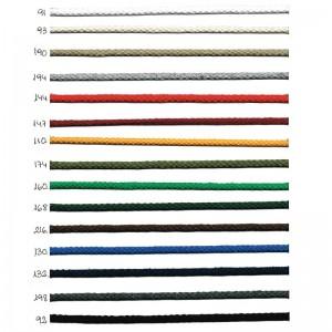 Cordón Algodón 5mm 50 Metros
