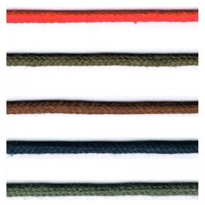 Cordón Algodón 4mm 25 Metros