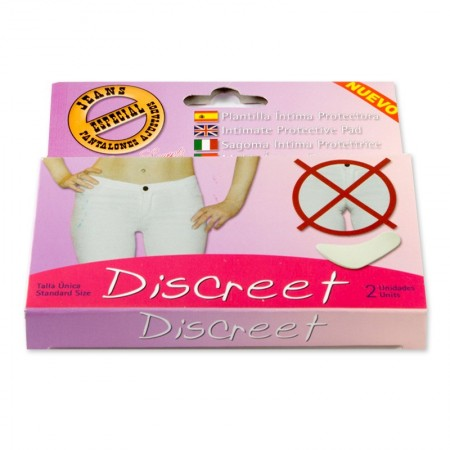 "Plantilla Intima Protectora ""Discreet"" Pack 2"