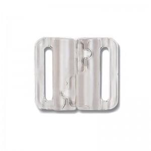 Broche Bikini Plástico Transparente Pack 6 20 mm
