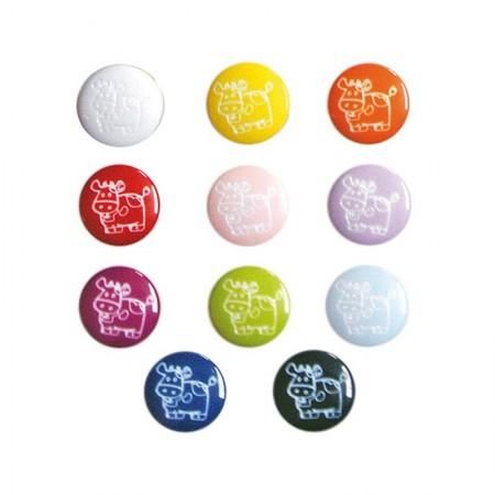 Botones Vacas 24 mm BP9895 Pack 72
