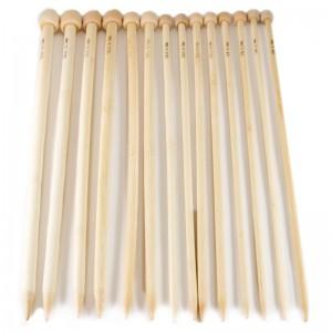 Agujas Bamboo Tricotar 34 cm Nº 0 - 15