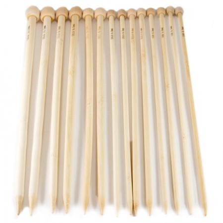 Agujas Bamboo Tricotar 34 cm Nº 0 - 15 Pack 30