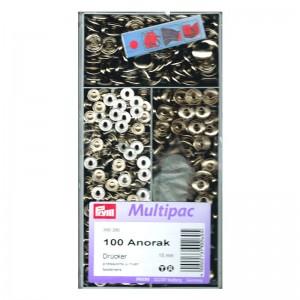 Botones Anorak 390260 15mm Pack 100 Unidades