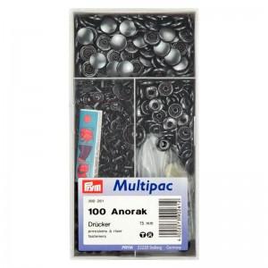 Botones Anorak 390261 15mm Pack 100 Unidades