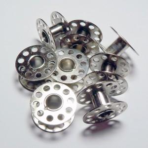 Canillas De Máquina Metal 2 cm Pack 30