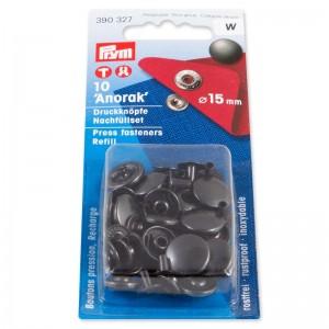 Botones Anorak 390327 15 mm 50 Unidades