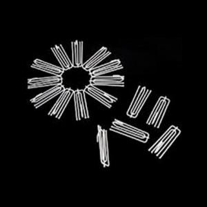 Ganchos Para Cortinas Fruncidor Metálico Pack 100