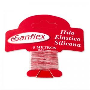Hilo Elástico Silicona 060 mm 12 Uds 3 Metros
