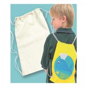 Saco Mochila Textil Para Decorar Pack 2