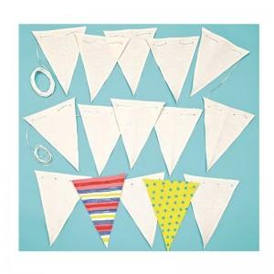 Banderines Con Cordaje Para Decorar Pack 16