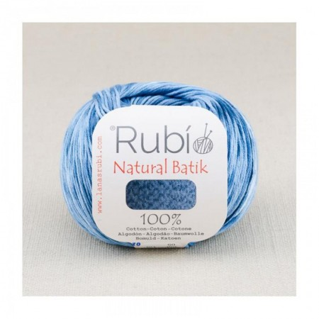 Ovillo Rubi Natural Batik 50 Gramos Pack 6