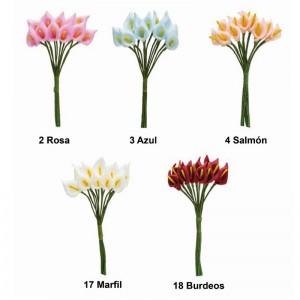 Flor Cala Pomos Ramito Pack 12