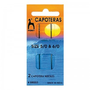 Aguja Capotera Surtido 5/8 y 6/0 Pack 10