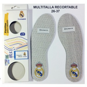 Plantillas Niño Real Madrid Carbon Activado