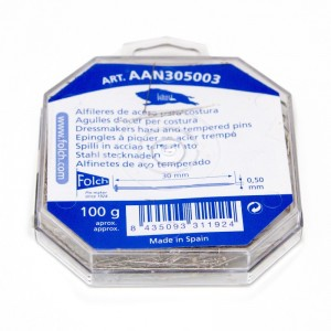 Alfiler Acero Nº5 AAN305003 Pack 100 gramos