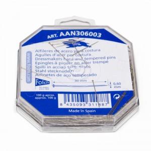 Alfiler Acero Nº6 AAN306003 Pack 100 gramos