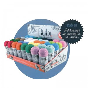 EXPOSITOR ZEPELIN RUBI PERLE PLATA 60GRM PACK 40