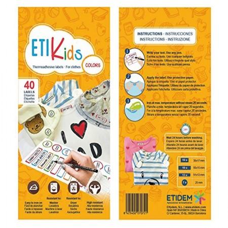 ETIQUETAS MARCAR ETIKIDS PACK 40