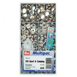 Botones Prym Anorak 390241 15mm pack 100 unidades