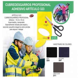 COPPYSTRAPPI PROFESIONAL IMPERMEABLE ART 323