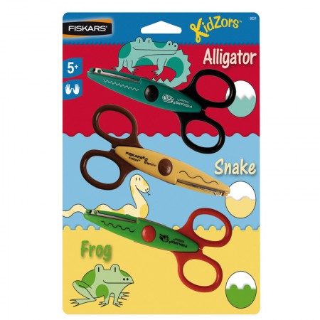 TIJERAS INFANTIL ZOO ART 8231 PACK 3