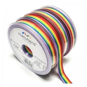 Cinta bandera de arcoíris 25 metros