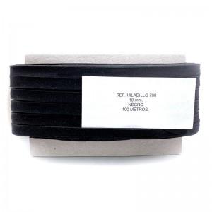 Cinta Algodón 40mm 50 metros Negro