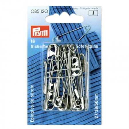 """Imperdibles """" Prym """" 38mm 085201"""