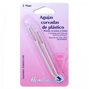 Aguja Curvada H211.B Plástico Pack 10