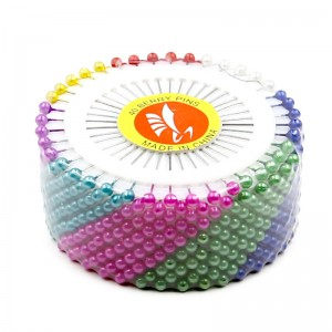 Ruletas de 40 alfileres colores brillantes pack 12