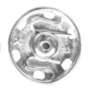 Broches de presión y automáticos metalicos